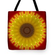 Sunny Kaleidoscope Tote Bag