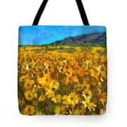 Sunny Meadow Tote Bag