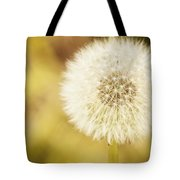 Sunny On My Dandelion Tote Bag