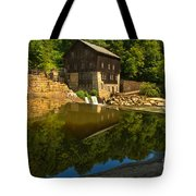 Sunny Refelctions In Slippery Rock Creek Tote Bag