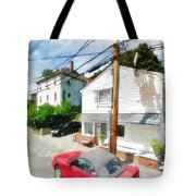 Sunny Side Of The Street Tote Bag