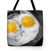 Sunny Side Up Tote Bag by Gunter Nezhoda