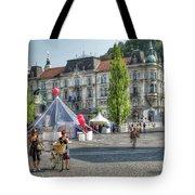 Sunny Slovenia Tote Bag
