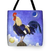 Sunny The Rooster Tote Bag