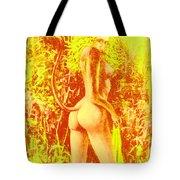 Sunny Wood Nymph Tote Bag