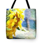 Sunnyabstracted Tote Bag