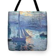 Sunrise - Marine Tote Bag