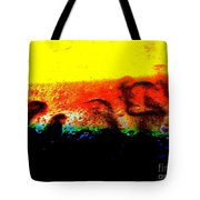 Sunrise Above The Trees Tote Bag
