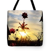 Sunrise Angel Tote Bag