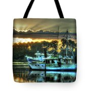 Sunrise At Billy's Tote Bag by Michael Thomas