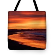 Sunrise At Damon Point Tote Bag