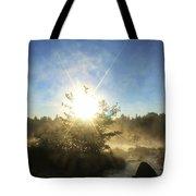 Sunrise At Holeb Tote Bag