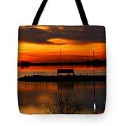 Sunrise At Jackson Tote Bag
