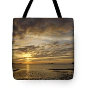 Sunrise At Low Tide - Sleepy Cove Tote Bag