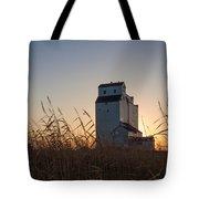 Grain Elevator At Sunrise Tote Bag
