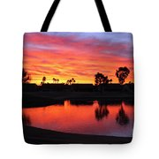 Sunrise At Polly's Tote Bag