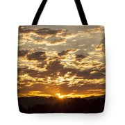 Sunrise At Spirit Lake Sanctuary Lower Lake Ca 20140710 0609 Tote Bag
