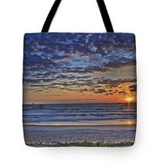 Sunrise At The Beach Tote Bag