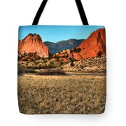 Sunrise At The Garden Tote Bag