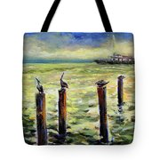 Sunrise At The Inlet By Julianne Felton 2-24-14 Tote Bag