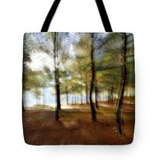 Sunrise At The Magic Forest Tote Bag