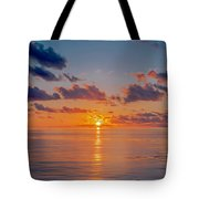 Sunrise At The Seychelles Tote Bag
