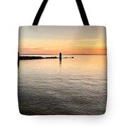 Sunrise At The Straits Tote Bag