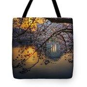 Sunrise At The Thomas Jefferson Memorial Tote Bag