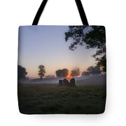 Sunrise At Whitemarsh Tote Bag