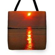 Sunrise Atlantic City Tote Bag