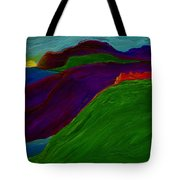 Sunrise Castle By Jrr Tote Bag