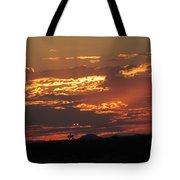 Sunrise Closeup 9-11-2013 Tote Bag