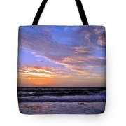 Sunrise Cloudshadows Tote Bag