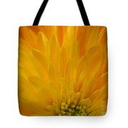 Sunrise Dahlia Abstract Tote Bag
