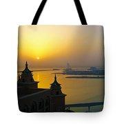 Sunrise Dubai Tote Bag