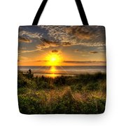 Sunrise Dune Tote Bag