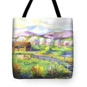 Sunrise Farm Stand Tote Bag