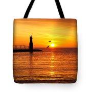 Sunrise Frolic Tote Bag