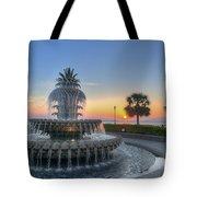 Sunrise In Charleston Tote Bag