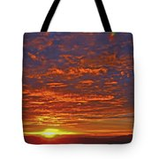 Sunrise In Colombia Tote Bag