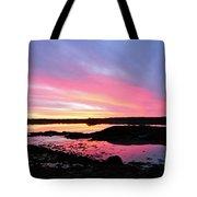 Sunrise In Maine Tote Bag