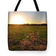 Sunrise In Oklahoma Tote Bag