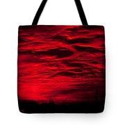Sunrise In Red Tote Bag