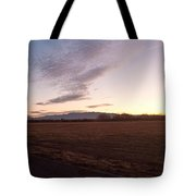Sunrise In Refuge Tote Bag