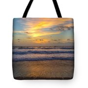 Sunrise In Salvo Tote Bag