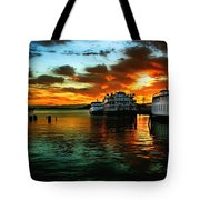 Sunrise In San Francisco Tote Bag
