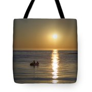 Sunrise In Stone Harbor New Jersey Tote Bag