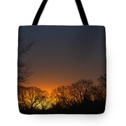 Sunrise In Tennessee Tote Bag