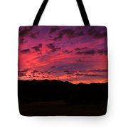 Sunrise In The Foothills Tote Bag