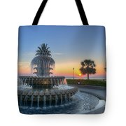 Sunrise In The Lowcountry Tote Bag